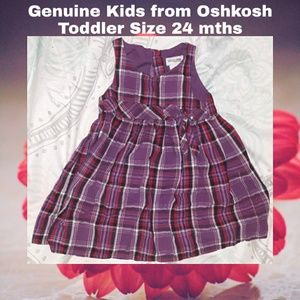 Oshkosh Dress | 24 mths | Girl's | Purple
